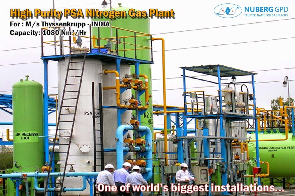 Nitrogen Dx Model High Purity Psa Nuberg Gpd