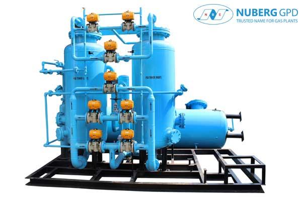 Oxygen PSA System Nuberg Gpd