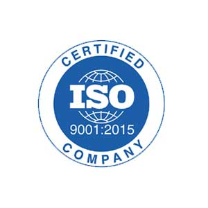 ISO Certificate 9001 : 2015